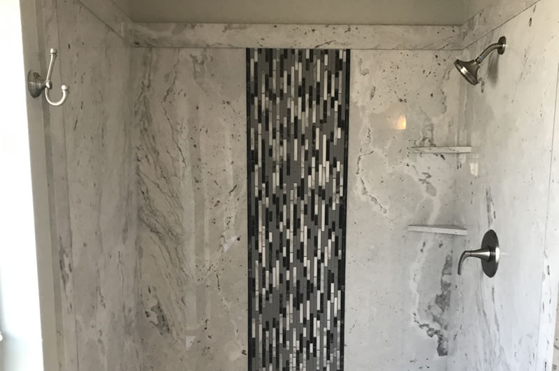 Cultured Marble Shower Installations