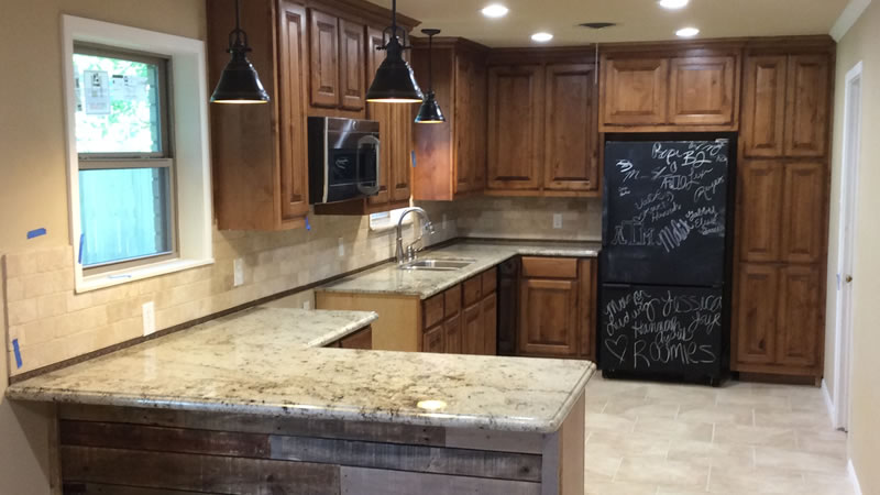 Kitchen Remodeling After Photo