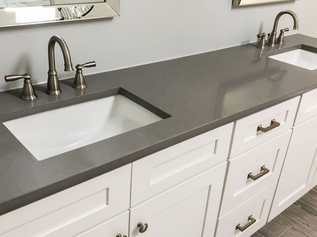 Quartz Countertop Fabrication and Installations In The Brazos Valley in Central Texas.
